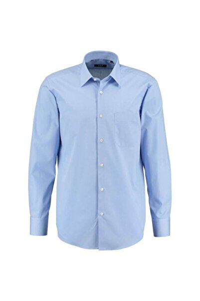 CCS Sarar Erkek Mavi Frank Co Klasik Kesim Gömlek