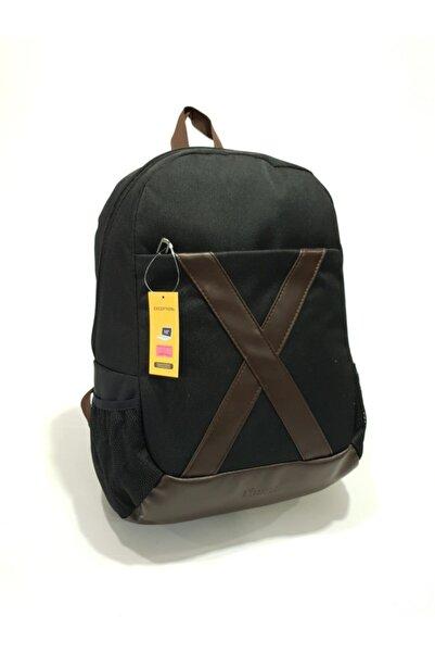Exception Sırt Çantası,15 Inch Laptop, 350x Siyah (üniseks)