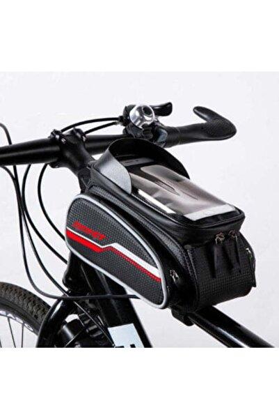 Forte GT 6 Inç Su Geçirmez Dokunmatik Ekran Bisiklet Kadro Üstü Çanta