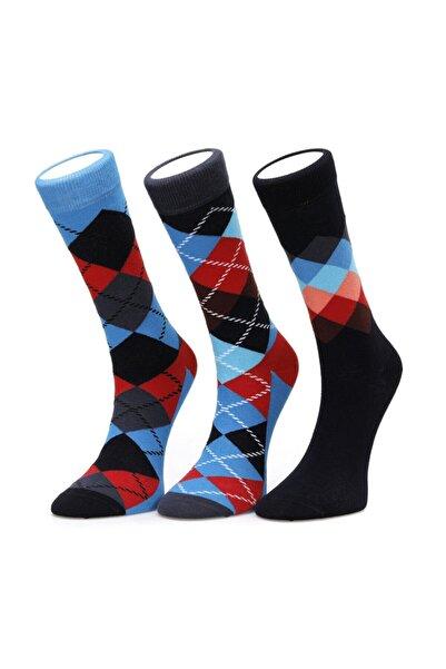 lumberjack Unisex Kırmızı Çorap
