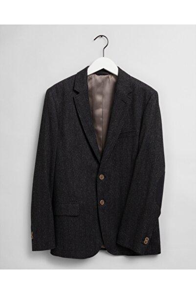 Gant Erkek Slim Fit Antrasit Blazer Ceket 7705125