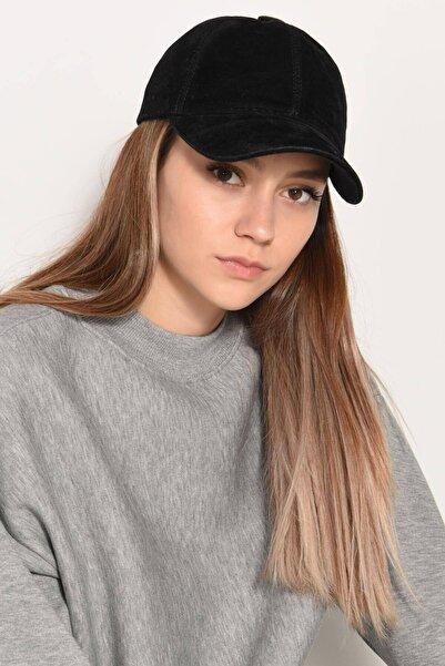 Addax Kadın Siyah Kadife Şapka ŞPK1037 ADX-0000022993
