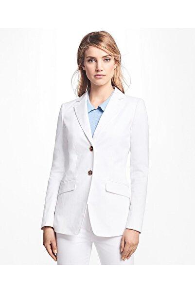 BROOKS BROTHERS Kadın Beyaz Ceket 1-00084449