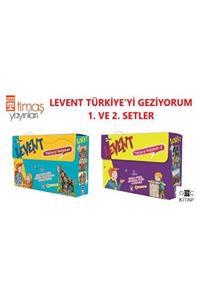 Timaş Çocuk Levent Türkiye'yi Geziyorum 1. Ve 2. Setler Kutulu 10 Kitap Set Mustafa Orakçı