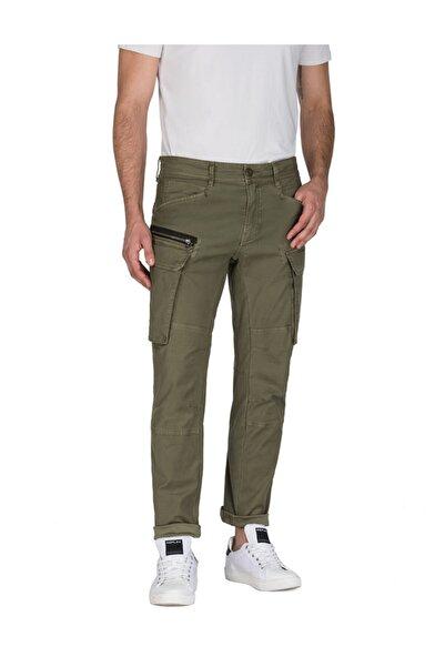 Replay Erkek Yeşil Pantalon Garment Dyed Stretch Satın