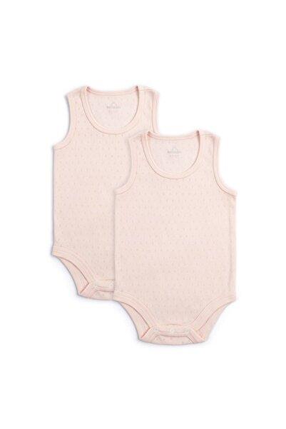 Funna Baby Basic Pembe 2li Atlet Body Set