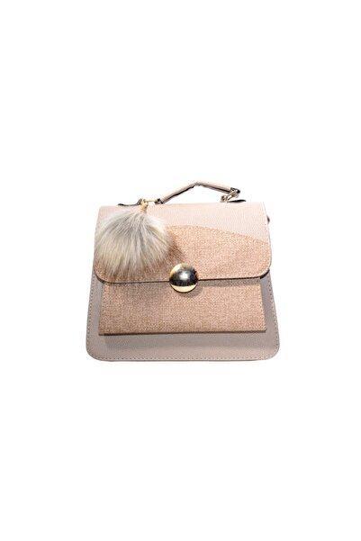 BellaVino Kadın Yuvarlak Tokalı Çanta C100
