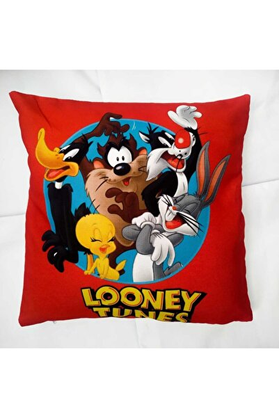 Köstebek Looney Tunes Kahramanlar Yastık