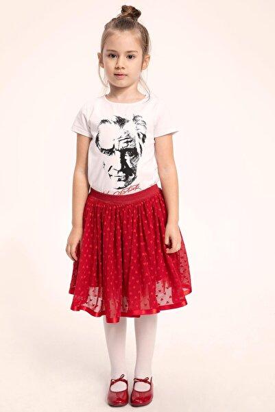 DeFacto Kız Çocuk Atatürk Baskılı Tişort