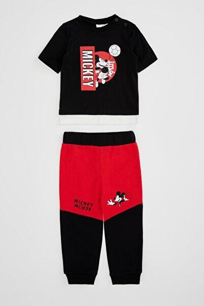 DeFacto Erkek Bebek Mickey Mouse Lisanslı Alt Üst Takım