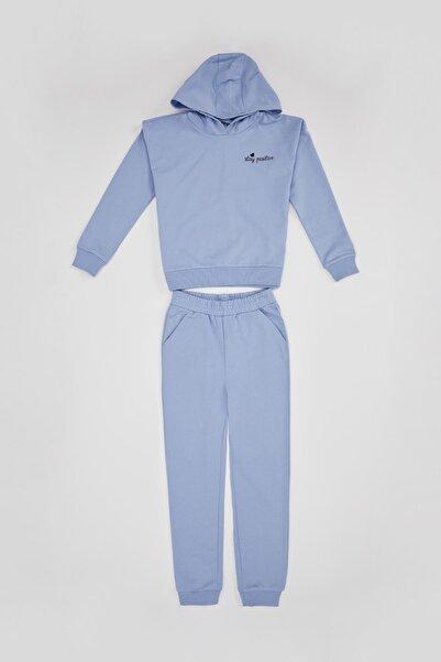DeFacto Jogger Eşofman ve Beli Büzgili Sweatshirt Takım