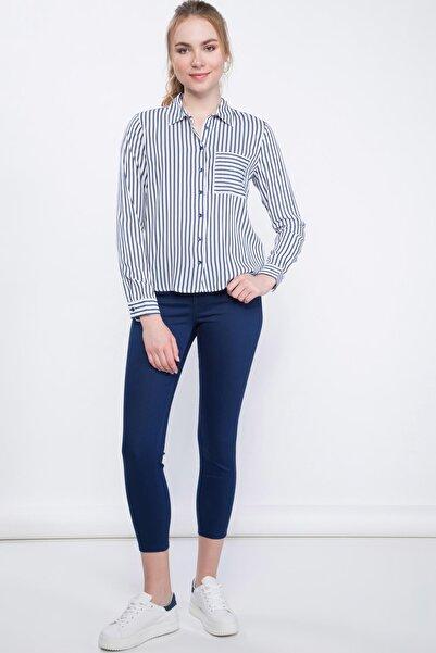 Kadın Anna Yüksek Bel Süper Skinny  Pantolon I3454AZ.19SP.NV42