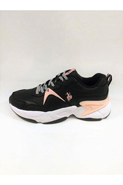 U.S. Polo Assn. JIMMY Siyah Kadın Sneaker Ayakkabı 100549046