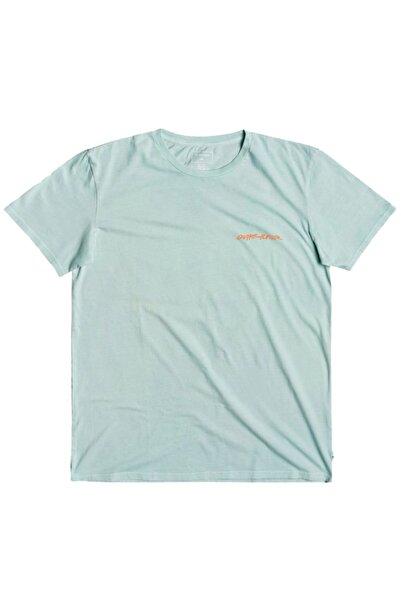 Quiksilver Erkek Mavi Tshirt