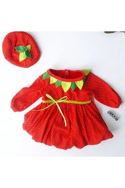Rico Kız Bebek Çilek Elbise