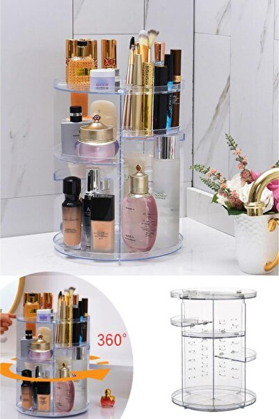 Flormar Make Up Organizer Şeffaf
