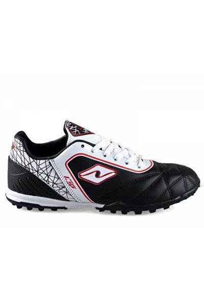 Lion Siyah Beyaz Halı Saha Ayakkabısı