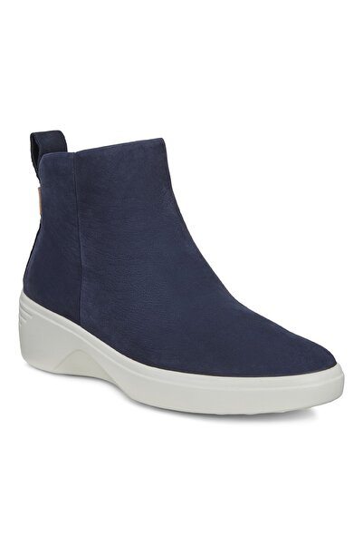 Ecco Kadın Mavi  Ayakkabı Soft 7 Wedge W Nıght Sky