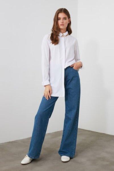 Mavi Yüksek Bel Wide Leg Jeans TWOAW21JE0099