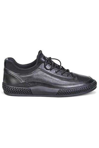 Greyder 13640 Siyah Deri Trendy Casual Erkek Ayakkabı