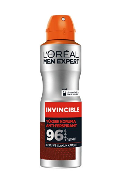 L'Oreal Paris Men Invincible Yüksek Koruma Deodorant 150 Ml