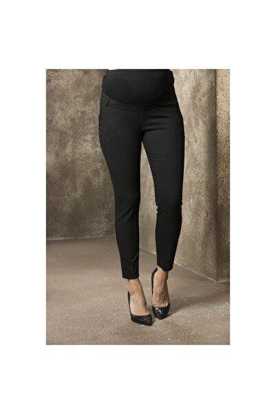Görsin Hamile Kadın Siyah Hamile Bilek Kumaş Pantolon 35060