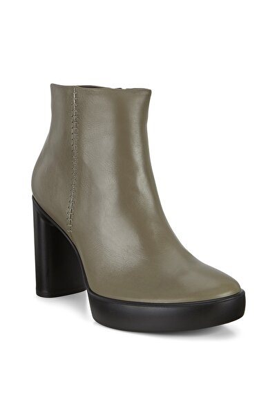 Ecco Gri Kadın Shape Sculpted Motion 75 Warm Grey Bot & Bootie 207803