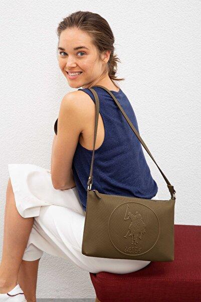 U.S. Polo Assn. K.hakı Kadın Postacı Çantası Us8018