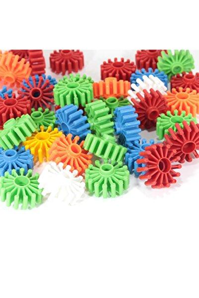 Efe Unisex Renkli Çarklı Puzzle 48 Parça  Eğitici El Becerisi Oyuncakları