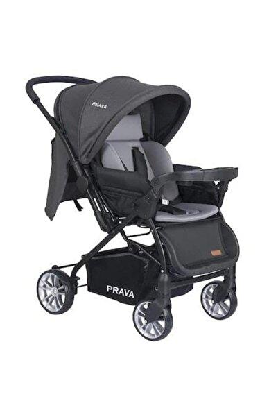 Prava Gri Çift Yönlü Bebek Arabası