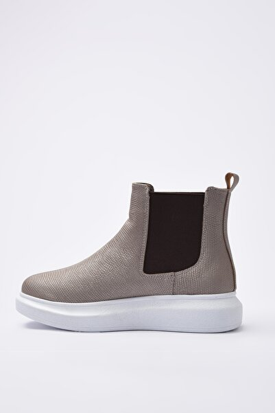 Elle Shoes SARITA Kadın Platin Bot & Bootie