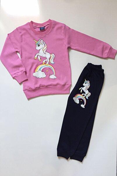 DISNEY Kız Çocuk Unicorn Desenli Takım