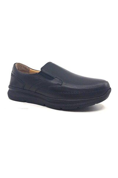 Muya Erkek Siyah Termo Taban Kışlık Deri Ayakkabı 50893-3457