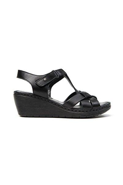 Greyder Kadın Siyah Sandalet 57070