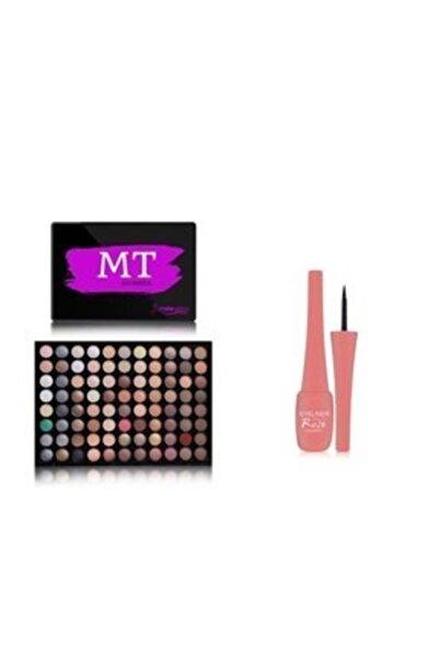 Makeuptime 88'Li Göz Far Paleti Mercan Eyeliner