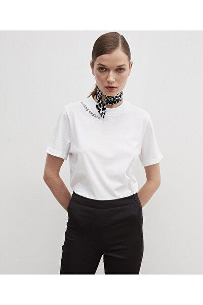 İpekyol Kadın Slogan Baskılı Tişört