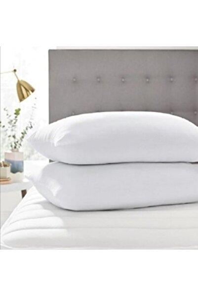 Şahin Beyaz Fermuarlı Boncuk Silikon 2 Adet Yastık 50×70 cm 800 gr