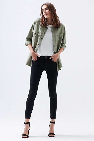 Mavi Adriana Ankle Gold Lux Move Jean Pantolon