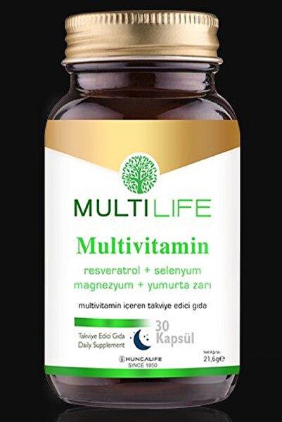 Huncalife Multilife Mutivitamin 30 Kapsül