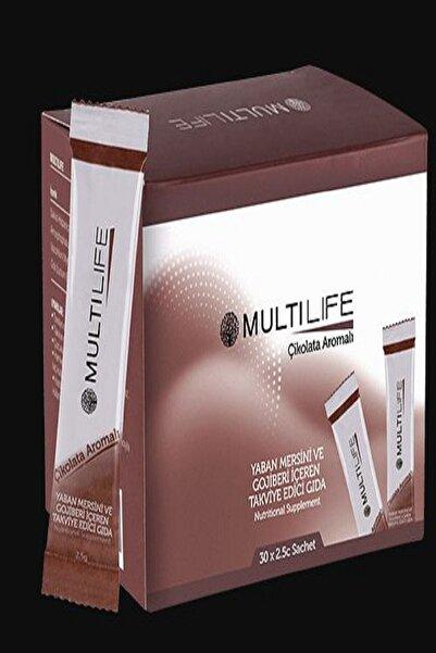 Huncalife Multilife Yaban Mersini Ve Gojiberi İçeren - Çikolata Aramolı Takviye Edici Gıda