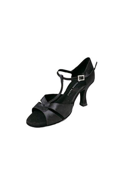 DANS AYAKKABISI Kadın Siyah Topuklu Ayakkabı