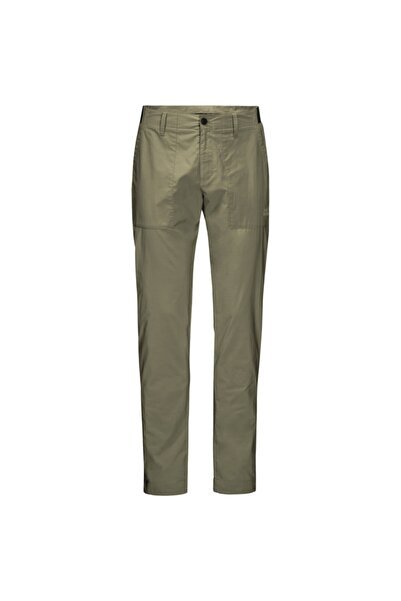 Jack Wolfskin Erkek Haki Outdoor Pantolon