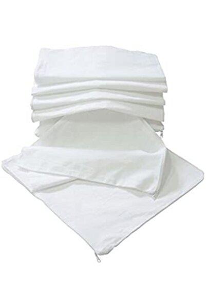 Şahin Beyaz Yastık Iç Astarı 10 Adet %100 Pamuk
