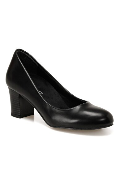 Miss F Dw20028 Siyah Kadın Topuklu Ayakkabı
