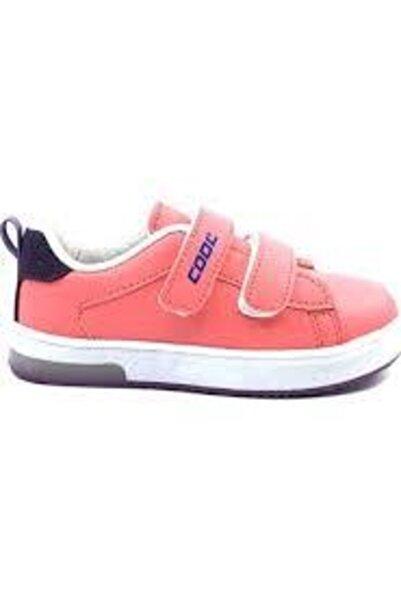 Cool Çocuk Pembe Somon  Günlük Işıklı Unisex Spor Ayakkabı