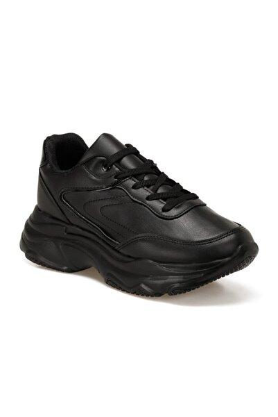 Torex Kadın Siyah Sneaker Ayakkabı Alfıo W 9pr