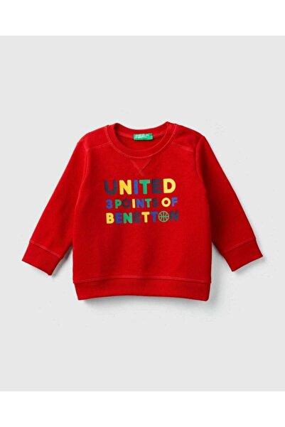 United Colors of Benetton Benetton Yazılı Sweatshirt
