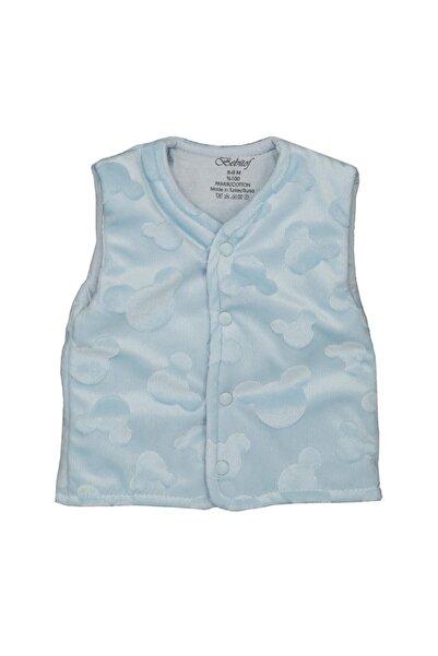 Bebitof Baby Erkek Bebek Mavi Yelek