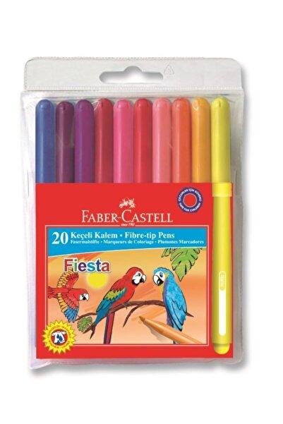 Faber Castell Fiesta 20li Keçeli Kalem 20 Renk