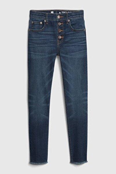 Kız Çocuk High Rise Slim Ankle Jean Pantolon